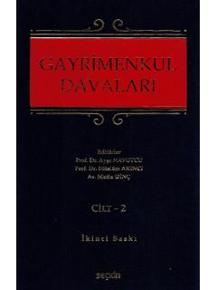Gayrimenkul Davaları (2 Cilt)