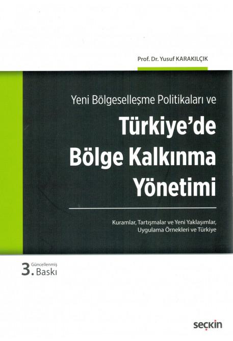 Türkiye'de Bölge Kalkınma Yönetimi