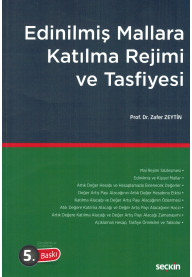 Edinilmiş Mallara Katılma Rejimi ve Tasfiyesi