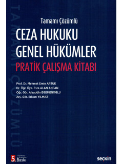 Ceza Hukuku Genel Hükümler Pratik Çalışma Kitabı