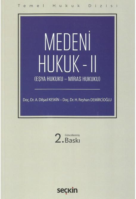 Medeni Hukuk - II