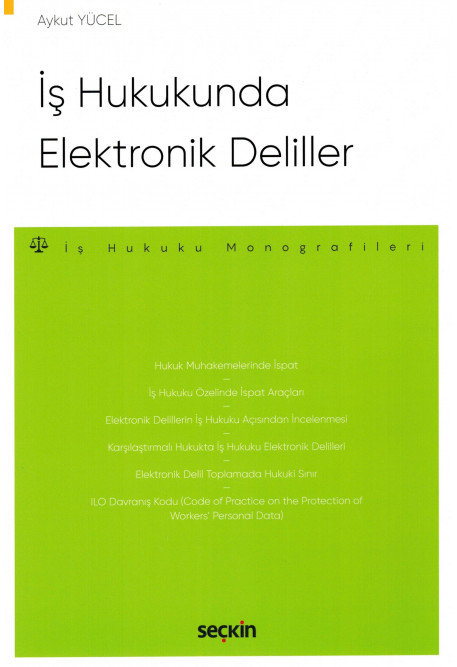 İş Hukukunda Elektronik Deliller