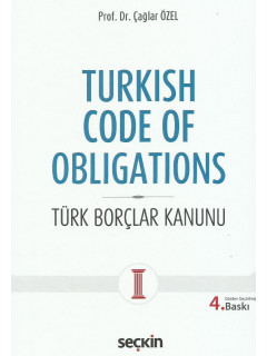 Turkish Code Of Obligations