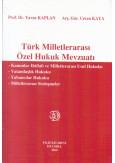 Türk Milletlerarası Özel Hukuk Mevzuatı
