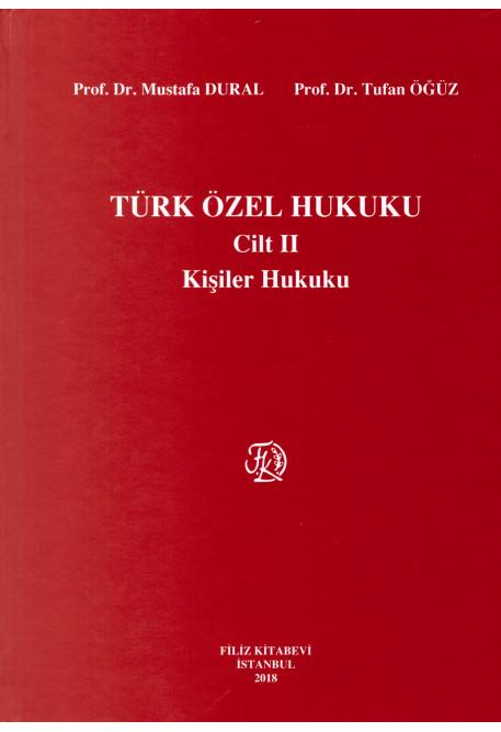 Türk Özel Hukuku Cilt II (Kişiler Hukuku)