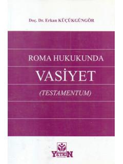 Roma Hukukunda Vasiyet