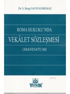 Vekalet Sözleşmesi Mandatum