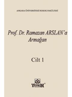 Prof. Dr. Ramazan Arslan'a Armağan(2 Cilt)