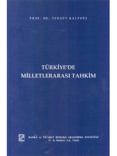 Türkiye'de Milletlerarası Tahkim