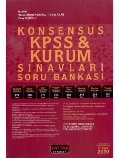 KPSS & Kurum Sınavları Soru Bankası