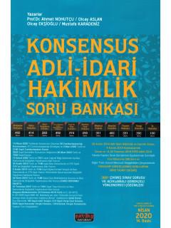 Konsensus Adli-İdari Hakimlik Soru Bankası